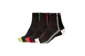 Endura calze Coolmax Stripe IIEndura Coolmax Stripe II Sock 1